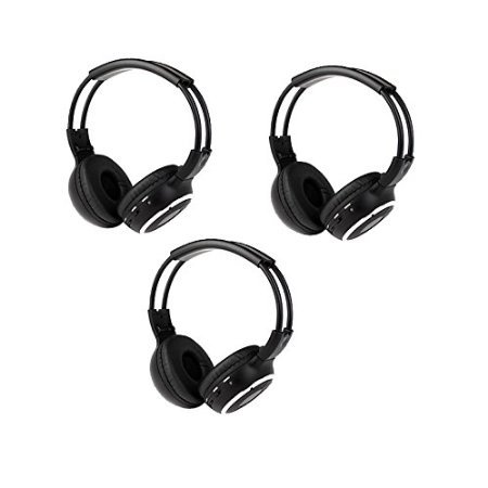 Pupug 3 Pack of Wireless Two Channel Foldable Universal I...