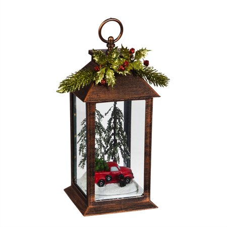 Country Truck Battery Operated LED Plastic - Country Lantern