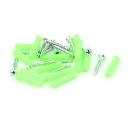 M3 x 20mm Countersunk  Head Self Tapping Screws Plastic Wall Bolt 14 (Plastic Set Screws)