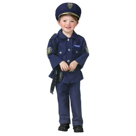 Policeman Toddler Costume - Child Policeman Costume