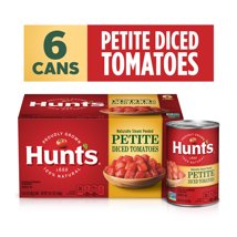 Canned Tomatoes & Paste: Hunt's Diced