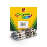 Crayola Bulk Crayons Silver 12 Per Box Multi Colored