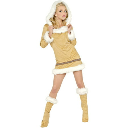Eskimo Kisses Adult Halloween Costume for $<!---->