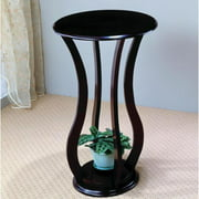 A Line Furniture Rajan Curved Legs Design Round Plant Stand/ Side Table