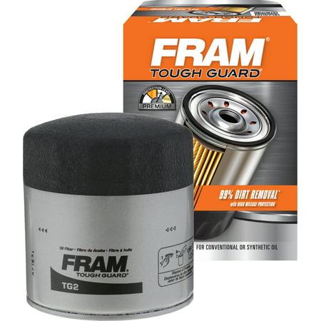 FRAM Tough Guard Oil Filter, TG2