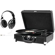 Innovative Suitcase Turntable with Headphones ITVS-550B