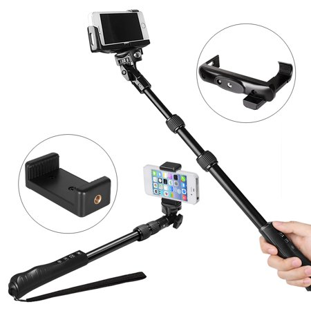 keedox rotary locking professional bluetooth selfie stick for iphone 7 7plus. Black Bedroom Furniture Sets. Home Design Ideas
