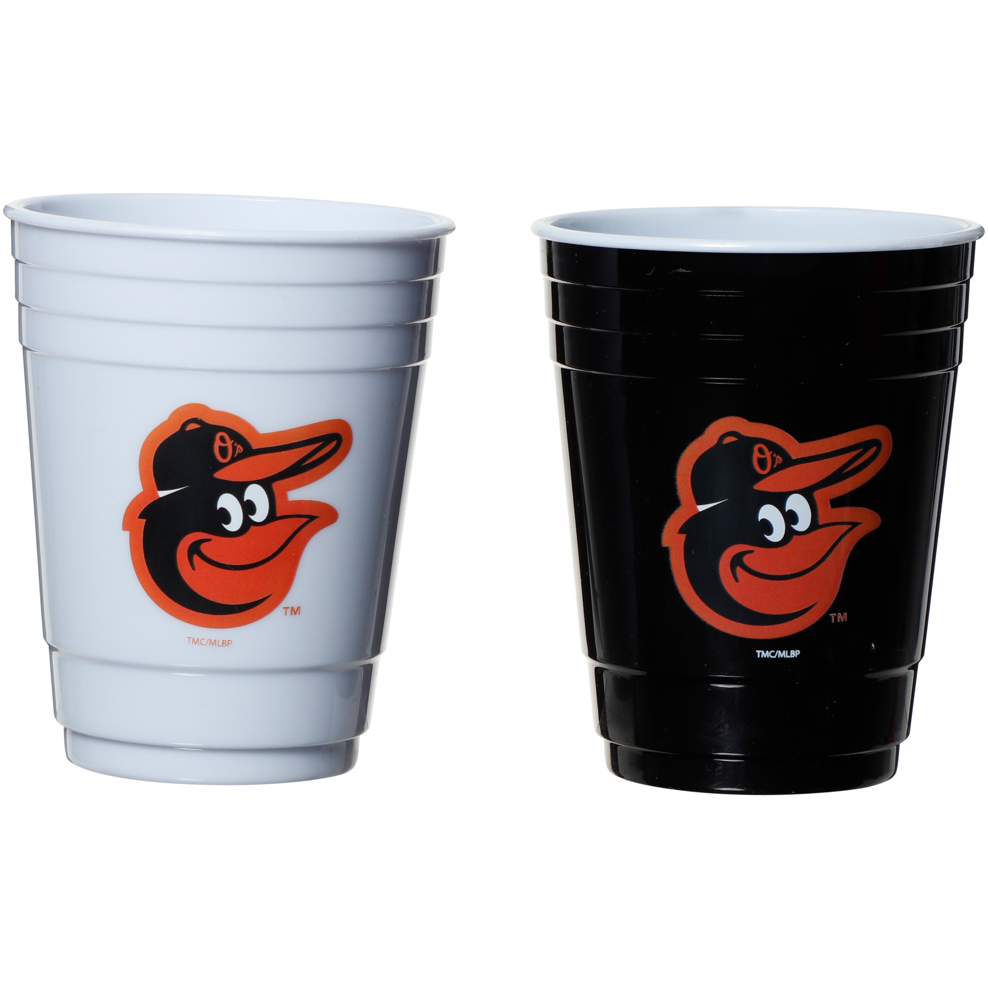 Baltimore Orioles Two-Pack Home And Away Plastic Cup - No Size