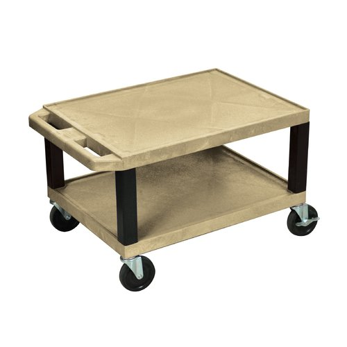 H. Wilson Company Tuffy Two Shelf Utility Cart