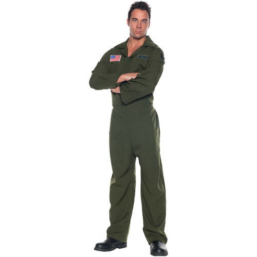 Airforce Jumpsuit Adult Halloween Costume - One Size