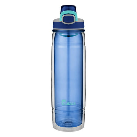 Bubba Flo Duo Refresh Insulated Water Bottle, 24 oz., Bold Blue