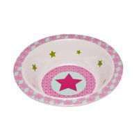 Bowl with silicone Starlight magenta