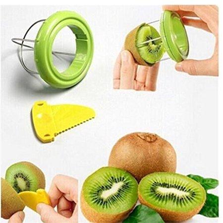 Drhob Vegetable Fruit Peeled Kiwi Cutter Twister Slicer Kitchen Peeler Divider Kitchen Fruit Tools Fruit Corers Separator