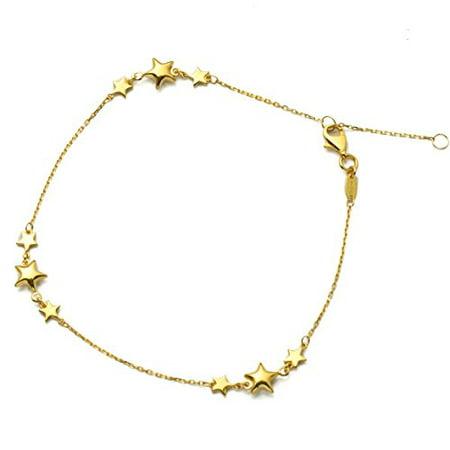 LOVEBLING - LOVEBLING 10K Yellow Gold .5mm Diamond Cut ...