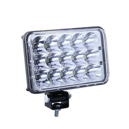 1 Pair Super Brightness 15 Led Car Light Bulb Crystal Clear Sealed