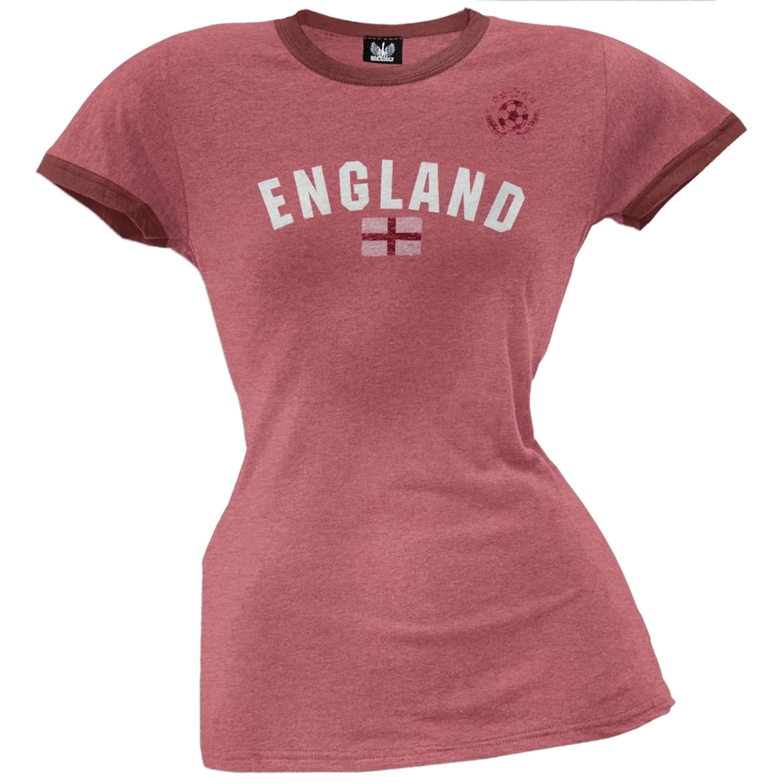 England Juniors Soccer Ringer T-Shirt