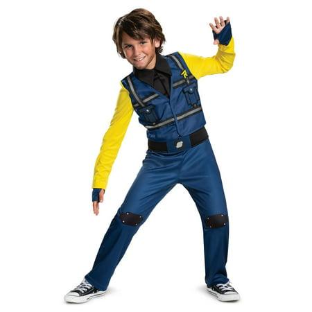 Halloween Lego Movie 2: Rex Dangervest Classic Jumpsuit Child Costume