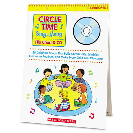Scholastic Circle Time Sing Along Flip Chart with CD, Grades PreK-1, 26 Pages](Halloween Singing Time)