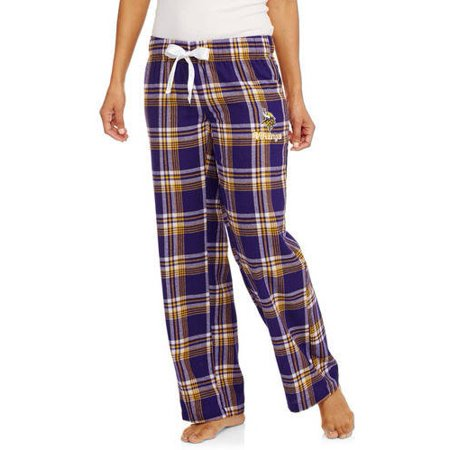 7ec4e455823 NFL Minnesota Vikings Estate Ladies  Flannel Pants