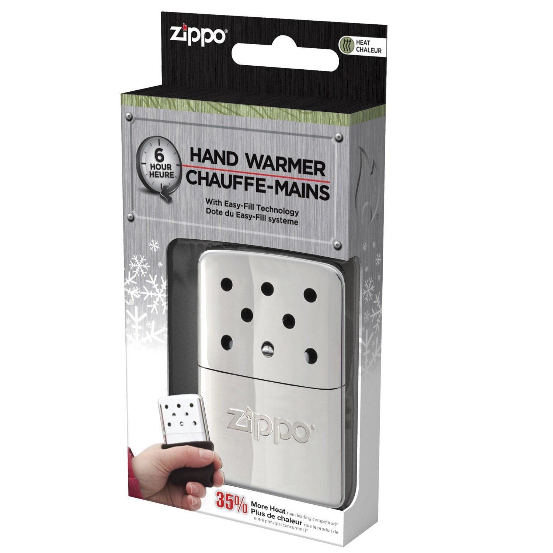 Portable Hand Warmer Small Hand Warmers 6 Hour High Polish Chrome