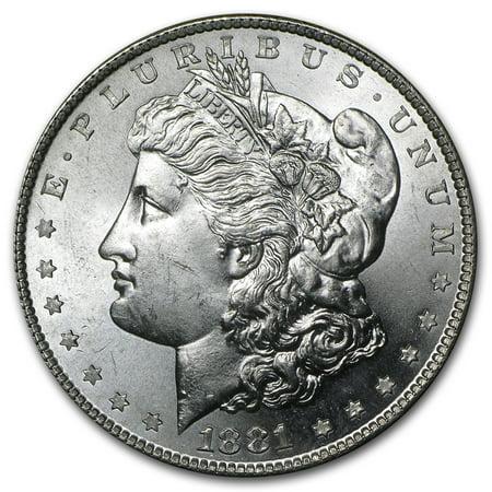 1881-S Morgan Silver Dollar BU (1878 Morgan Silver Dollar Coins)