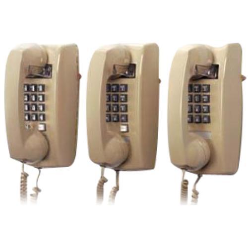 Cortelco 2554-v-bk 255400-vba-20m Wall Phone In Black (2554vbk)