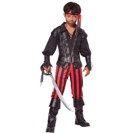 Boys Pirate Buccaneer Halloween Costume