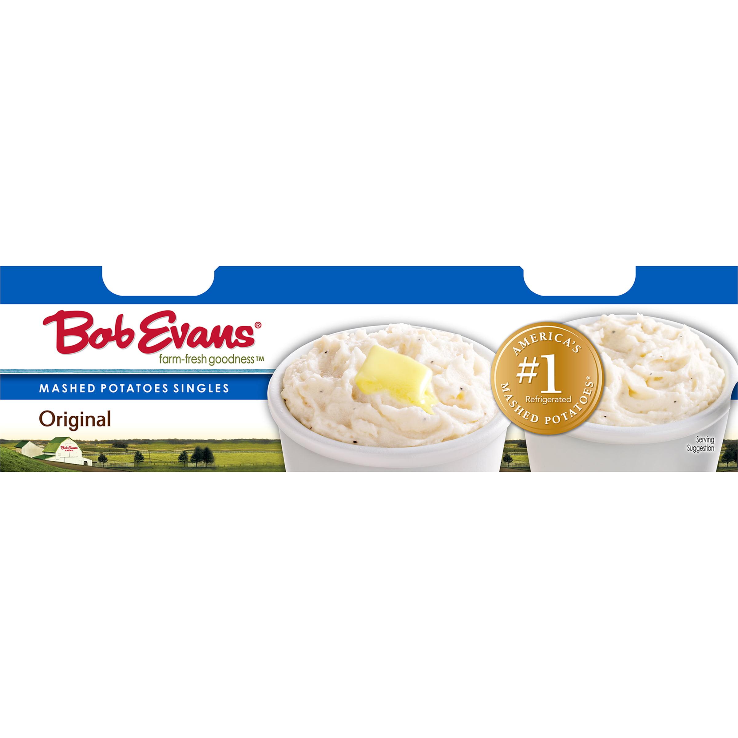 Bob Evans® Original Mashed Potato Singles 12 oz. Sleeve - Walmart.com