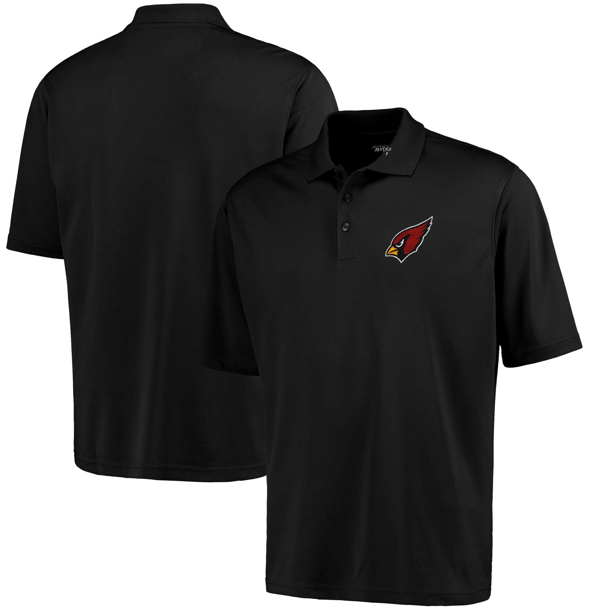 Arizona Cardinals Antigua Pique Xtra-Lite Polo - Black