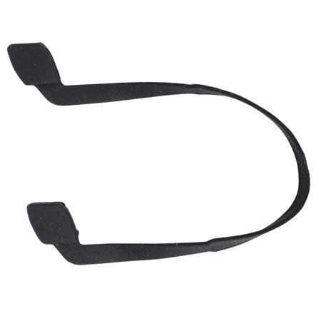 Amc Sunglass Sunglass Retainer Rope  Safety Holder   Stretch Rubber  Black