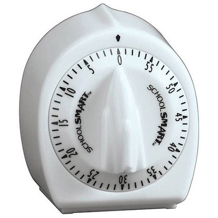 School Smart Large 60-Minute Timer, 3.37