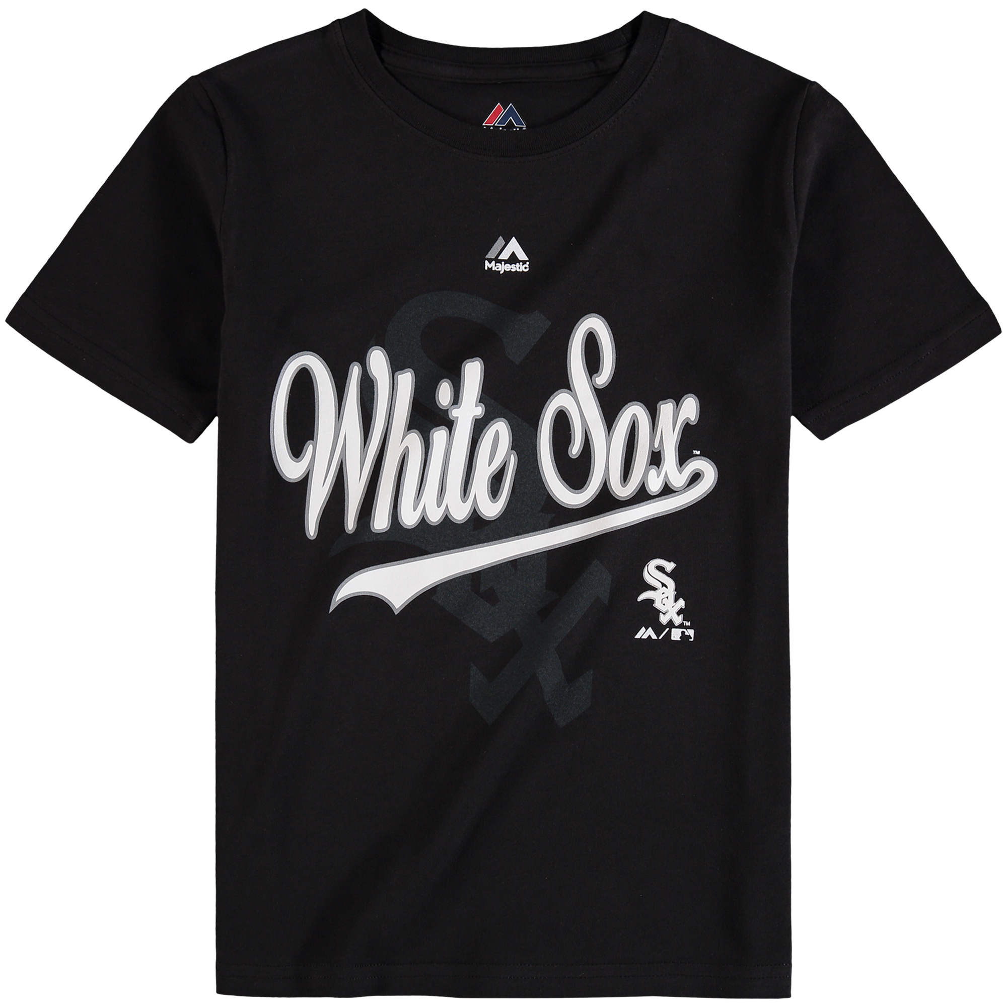 Chicago White Sox Majestic Youth At the Game T-Shirt - Black