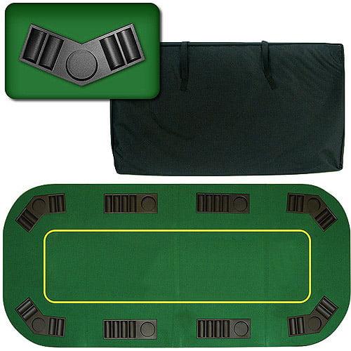 """Trademark Poker 80"""" Deluxe Texas Hold'em Folding Poker Table Top"""
