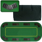 "Trademark Poker 80"" Deluxe Texas Hold'em Folding Poker Table Top"