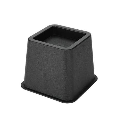 Cergrey 4pcs / set 3 élévateurs de meubles chaise de lit réglable Riser pieds larges élévateurs, supports de lit, élévateurs de meubles - image 3 de 7