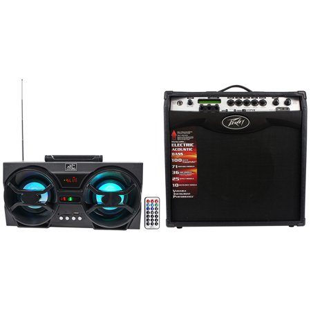 Peavey Vypyr Vip 3 100 Watt 12   Combo Guitar Amplifier   Free Bluetooth Speaker