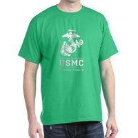 CafePress - USMC Semper Fidelis - 100% Cotton T-Shirt