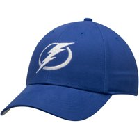 Men's Blue Tampa Bay Lightning Mass Basic Adjustable Hat - OSFA