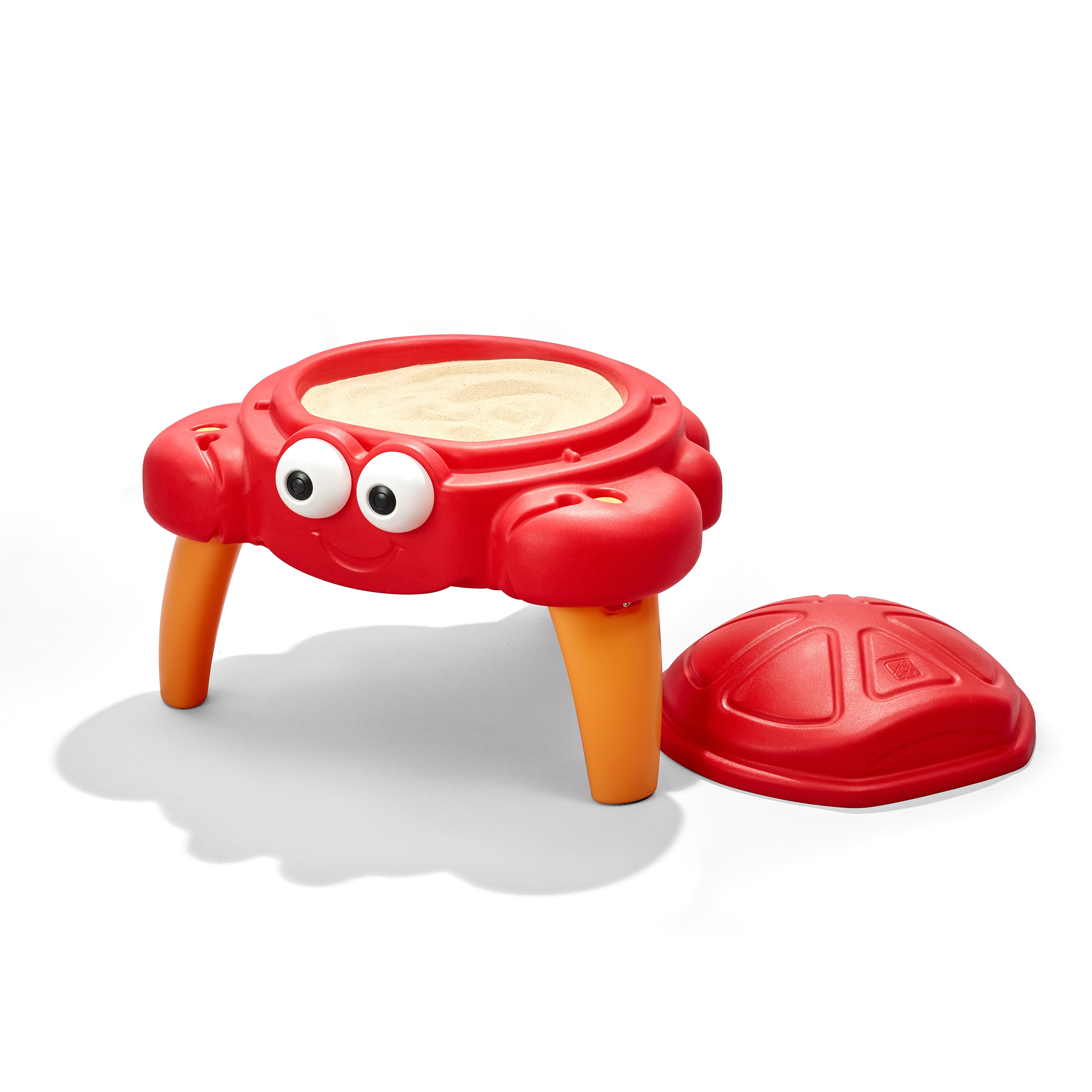 Step2 Crabbie Sand Table, Includes 4-piece sand toy accessory set