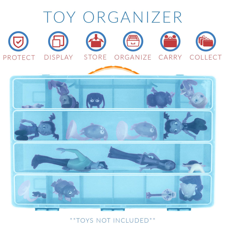 Accessories Kids LMB Life Made Better Vampirina Case Figures Playset Organizer Toy Storage Carrying Box