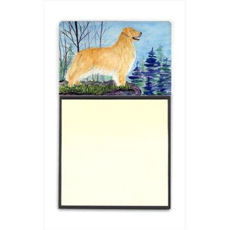 Golden Retriever Refiillable Sticky Note Holder or Postit Note Dispenser - image 1 of 1