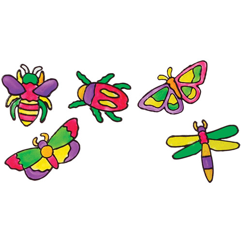 ALEX Toys - Window Stickers Kit, Sticky Bugs