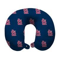 St. Louis Cardinals Polyester-Fill Travel Pillow - Blue - No Size