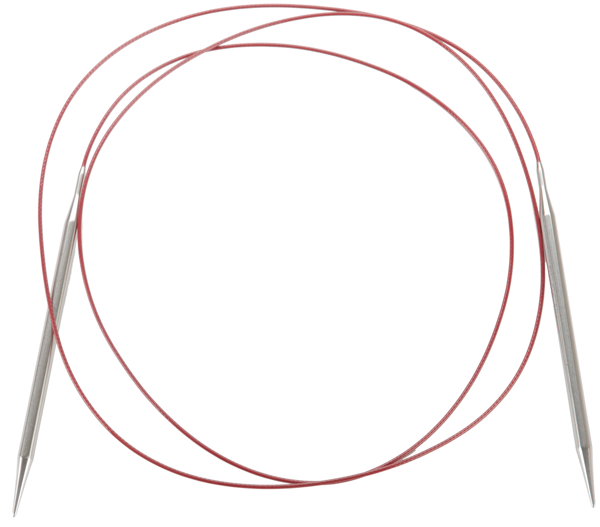ChiaoGoo 32-Inch Red Lace Stainless Steel Circular Knitting Needles 3//3.25mm
