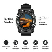 AGPtek Smart Watch Fitness Tracker for Kids and Mens Compatible Android IOS