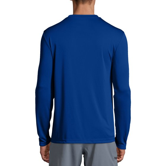 0e7ea5f34 Hanes - Sport Mens Cool DRI Performance Long Sleeve Tshirt (50+ UPF ...