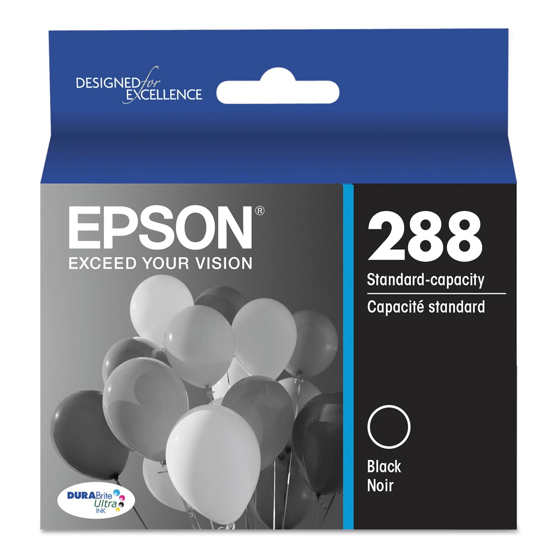 Epson 288 DURABrite Ultra Inks, Standard-Yield, Black - Walmart.com