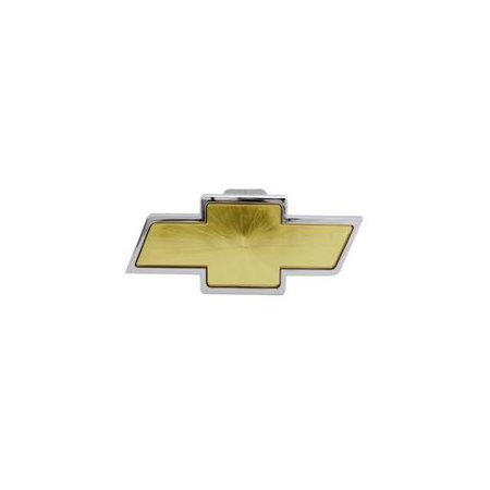 Pilot Automotive CR-132 Chevrolet Chrome With Amber Center Hitch Cover