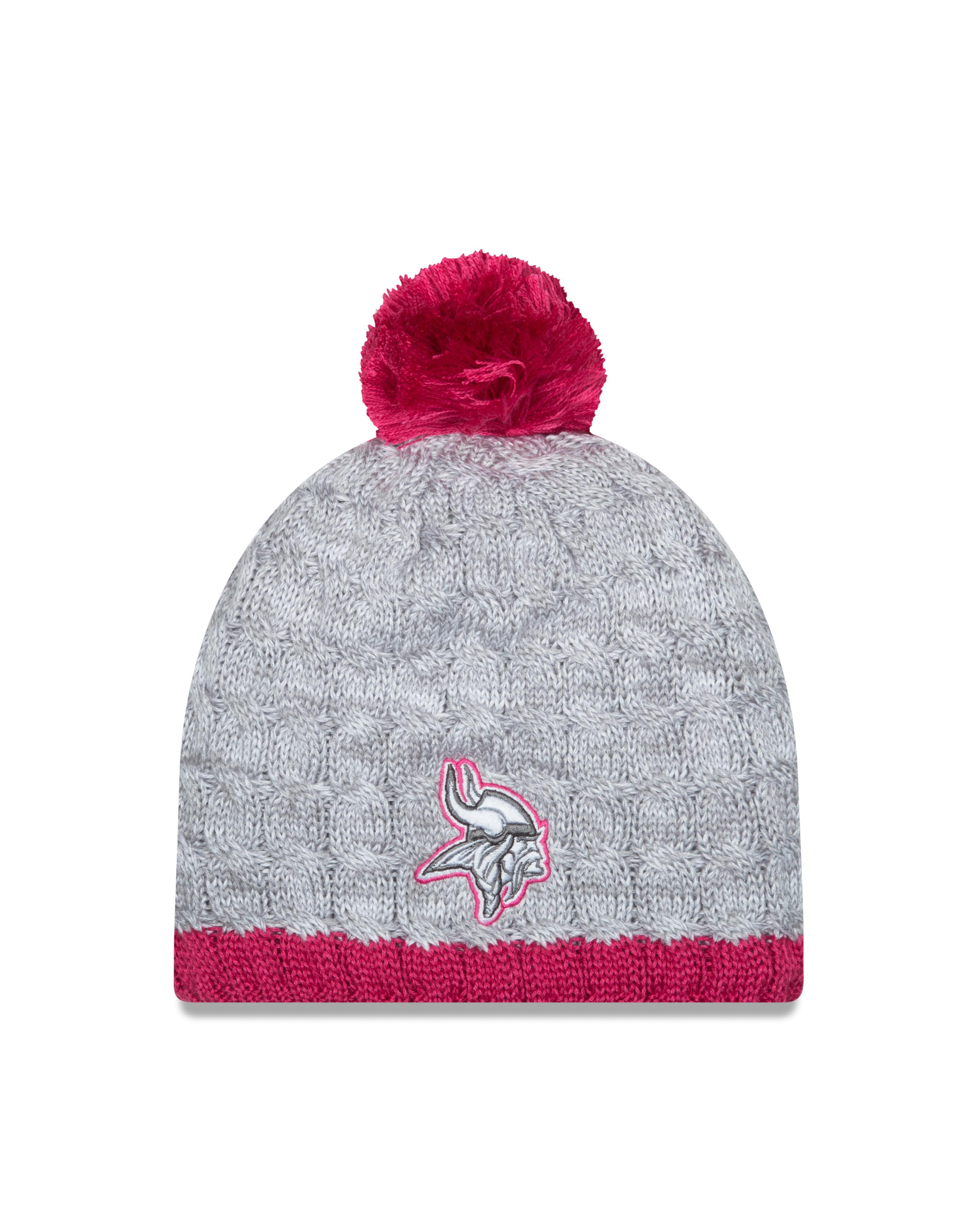 Minnesota Vikings 2015 BCA Women's Knit Hat with Pom by New Era