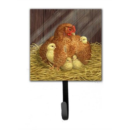 My Little Chickadees Hen with Chicks Leash or Key Holder